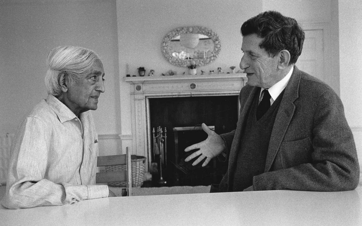David Bohm and Jiddu Krishnamurti